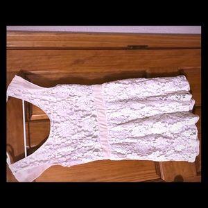 Lacy cream colored AE dress